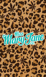 Phone Wallpaper! - Weed Leopard Print! - Miss Mary Jane Co.