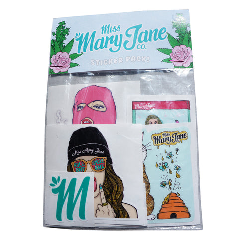 Miss Mary Jane Co. Sticker Pack! - 1st Edition - Miss Mary Jane Co.