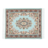 Persian Rug Glass Mat- Light Blue! - Miss Mary Jane Co.