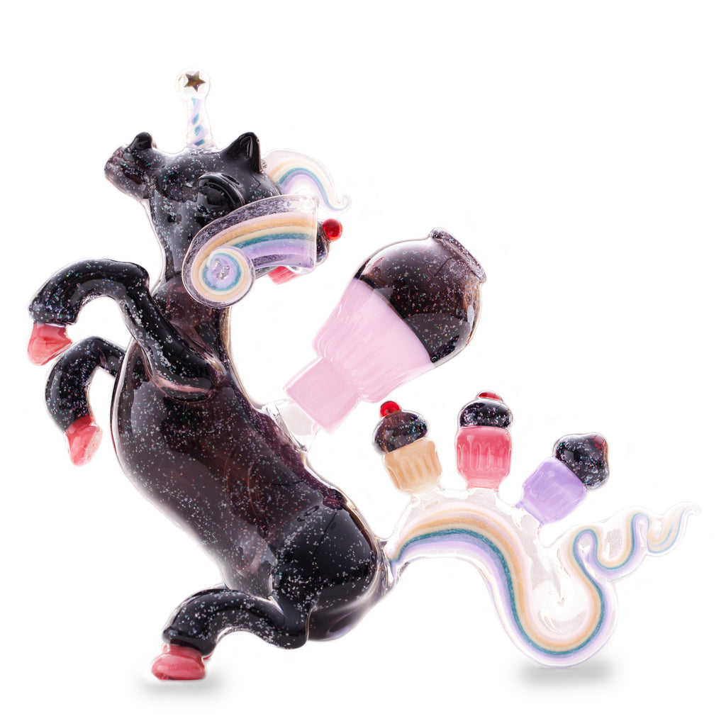 Amy Likes Fire Crushed Opal Unicorn! - Miss Mary Jane Co.