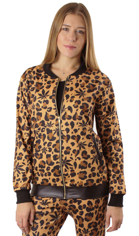 Weed Leopard Jacket! - Miss Mary Jane Co.