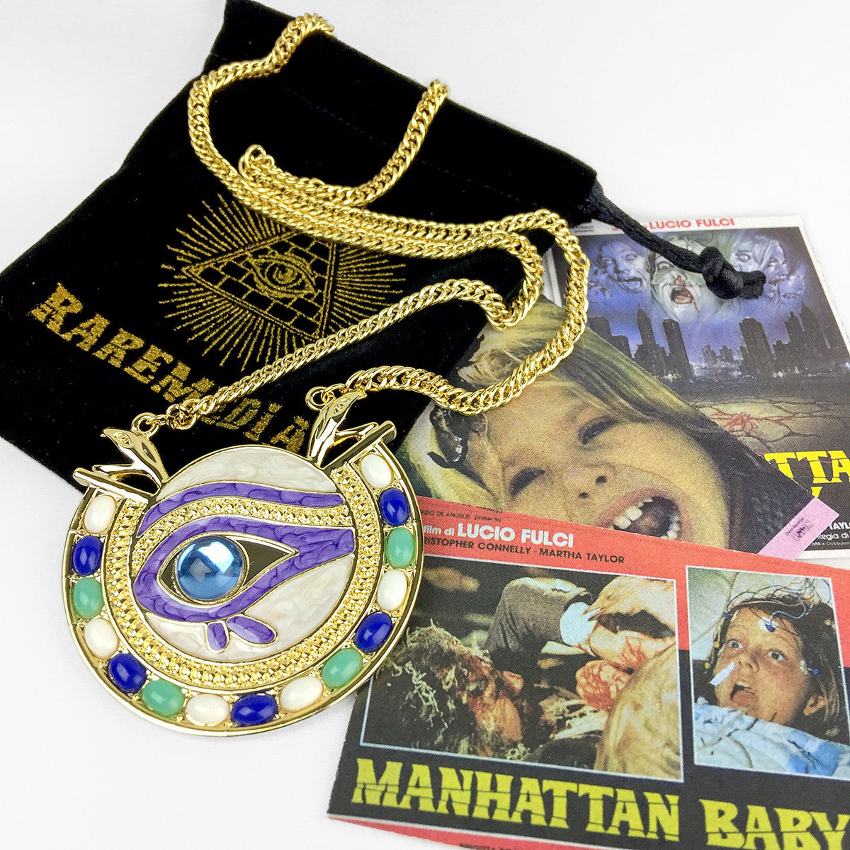 Manhattan Baby Amulet Necklace
