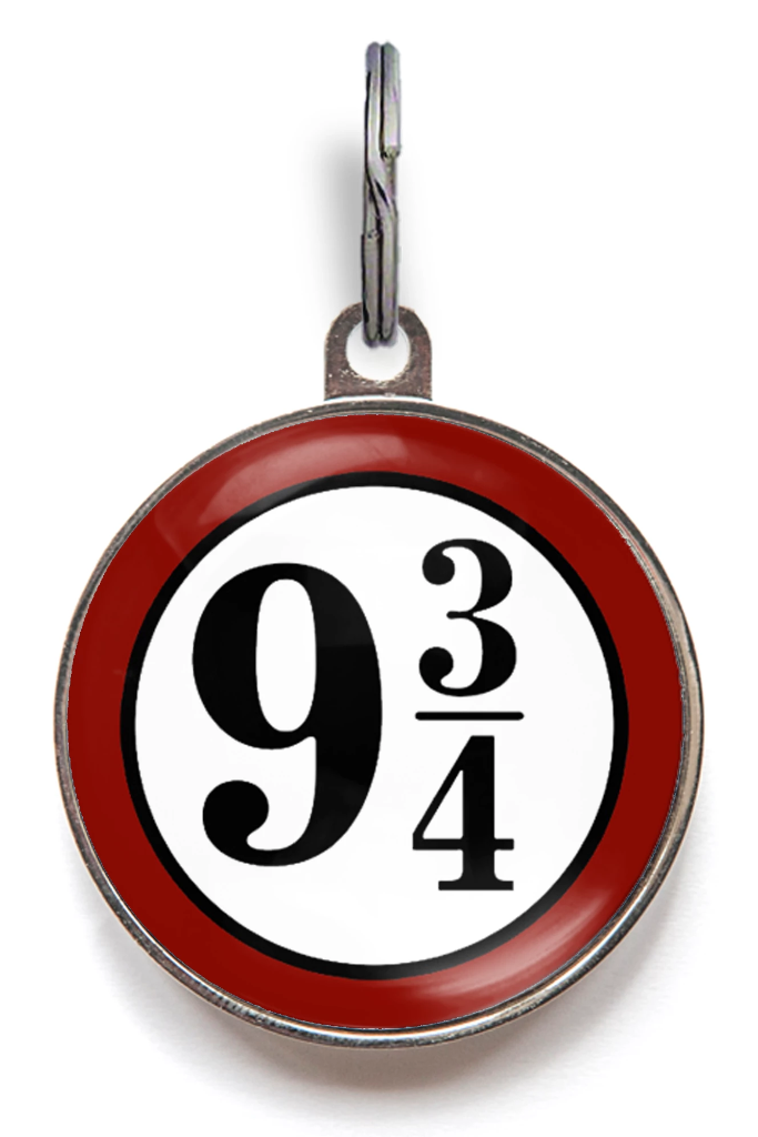 9 3/4 Sign Pet ID Tag