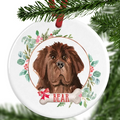 Newfoundland Personalised Christmas Ornament