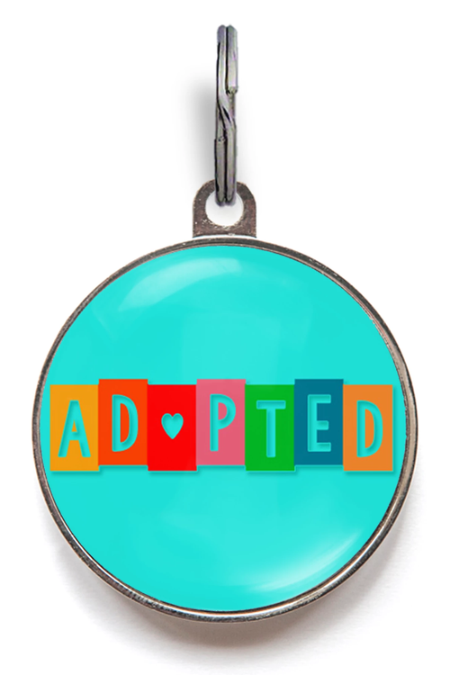 Adopted Pet Tag