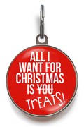 All I Want For Christmas Is Treats Dog Tag
