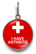 Arthritis Pet Tag For Cats And Dogs
