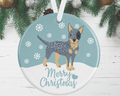 Australian Cattle Dog Decoration - Blue