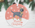 Australian Cattle Dog Decoration - pink