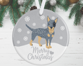 Australian Cattle Dog Christmas Decoration