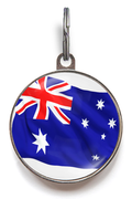 Australia Flag Pet Tag