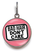 Bad Hair, Don't Care Pet Tag