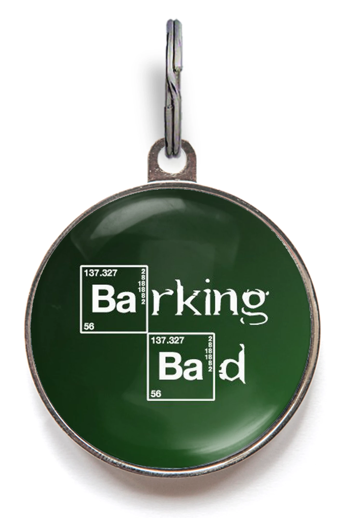 Barking Bad Dog ID Tag
