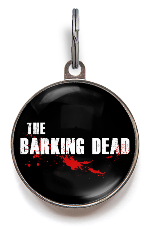 The Barking Dead Dog Tag