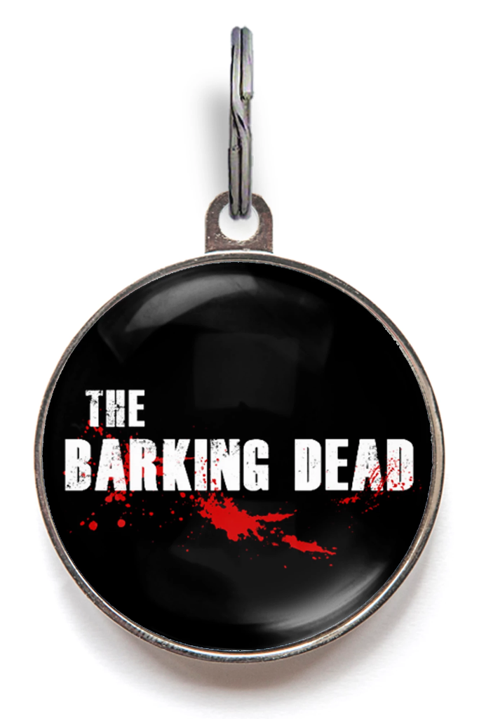 The Barking Dead Dog ID Tag