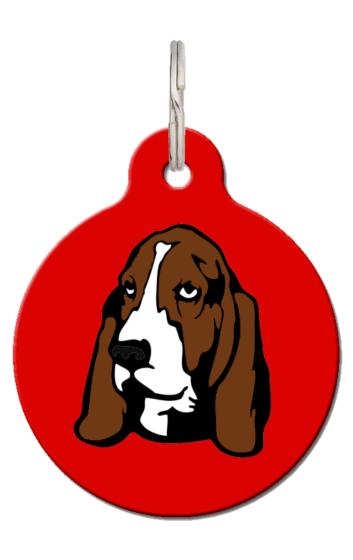 Basset Hound Breed Dog Tag