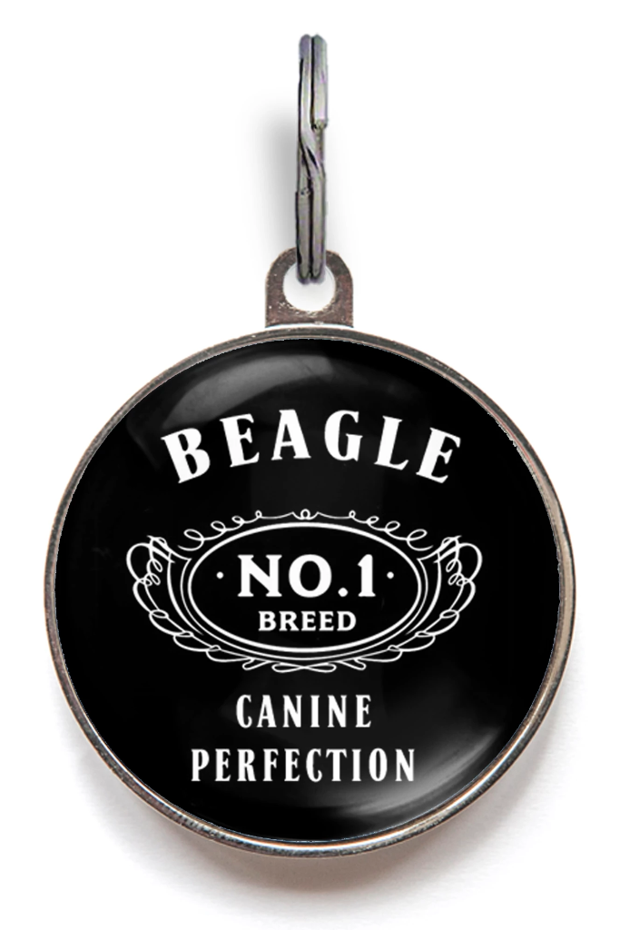 Beagle Breed Dog ID Tag
