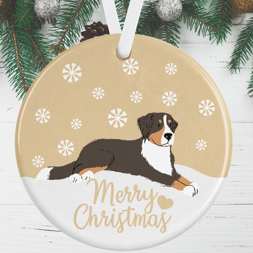 Bernese Mountain Dog Christmas Decoration