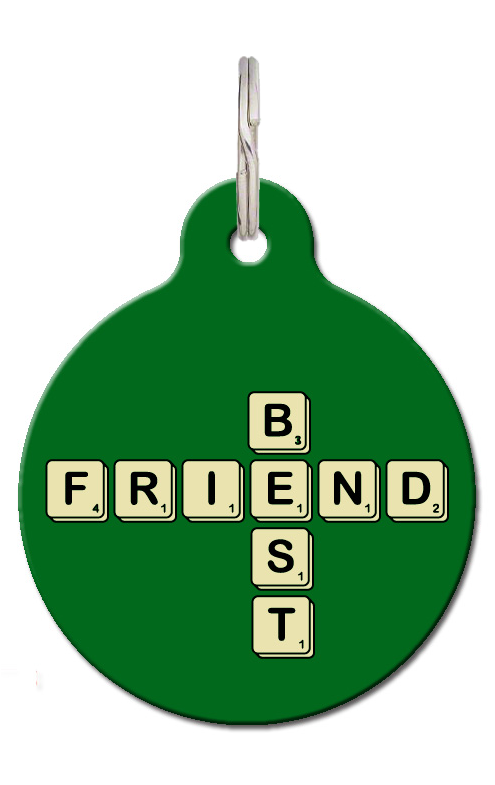 Best Friend Pet Tag