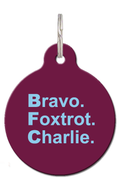 BFC Burnley Dog ID Tag