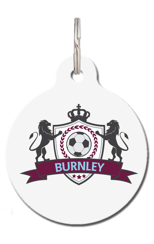 BFC Burnley Football Pet Tag