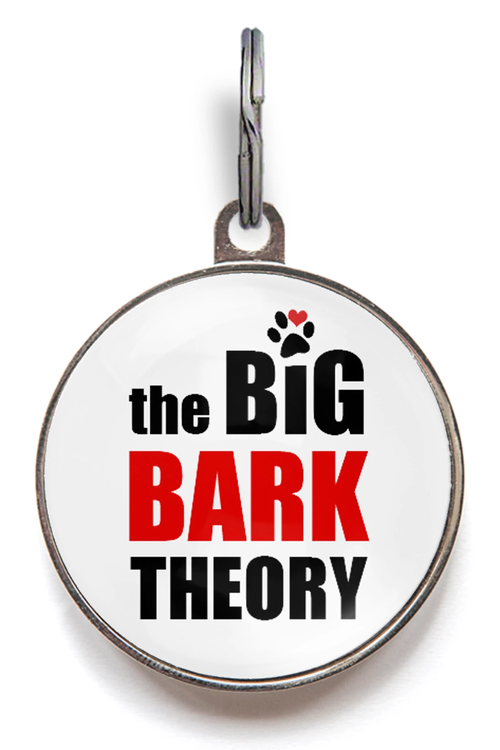 The Big Bark Theory Dog ID Tag
