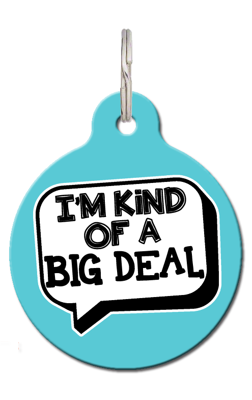 Big Deal Pet ID Tag