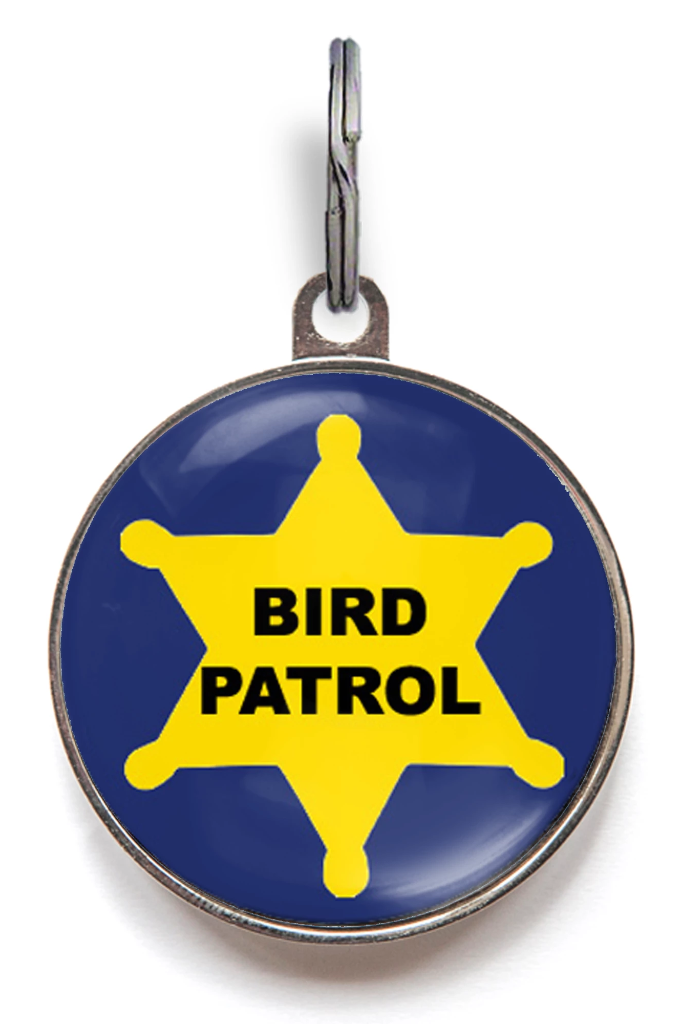 Bird Patrol Cat ID Tag