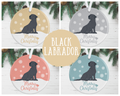 Black Labrador Christmas Decoration