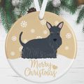 Scottish Terrier Christmas Decoration
