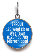 I Need A Special Diet & Medication Medical Pet Tag