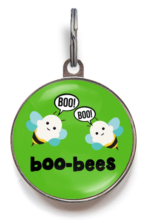 Boo-Bees Halloween Dog Tags