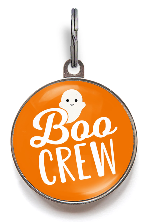 Boo Crew Halloween Dog Tags