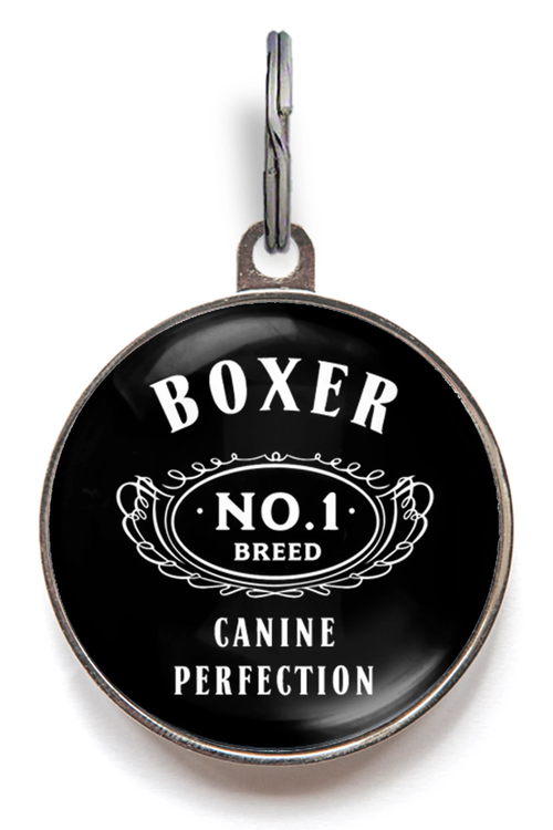 Boxer Breed Dog ID Tag