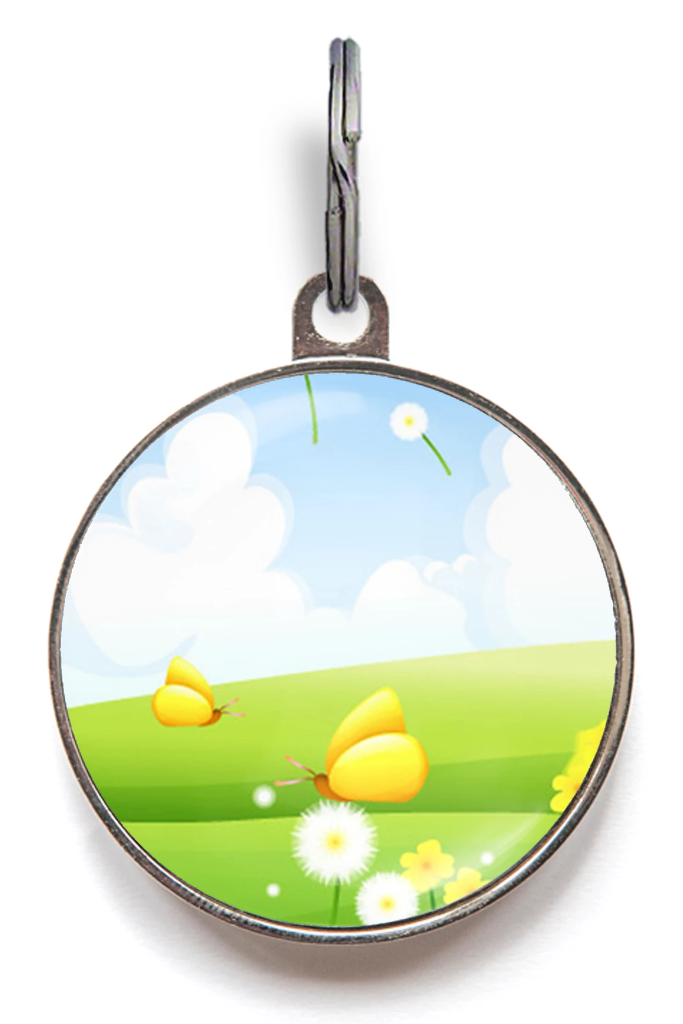Lazy Days Daisy Pet Tag