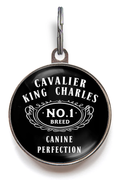 Cavalier King Charles Spaniel Breed Dog ID Tag