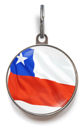 Chile Flag ID Tag