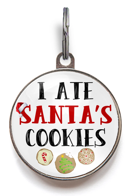 Christmas Pet Tag - I Ate Santa's Cookies
