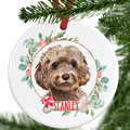 Brown Cockapoo Ornament