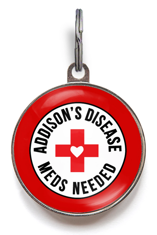 Addison's Disease Dog Tag