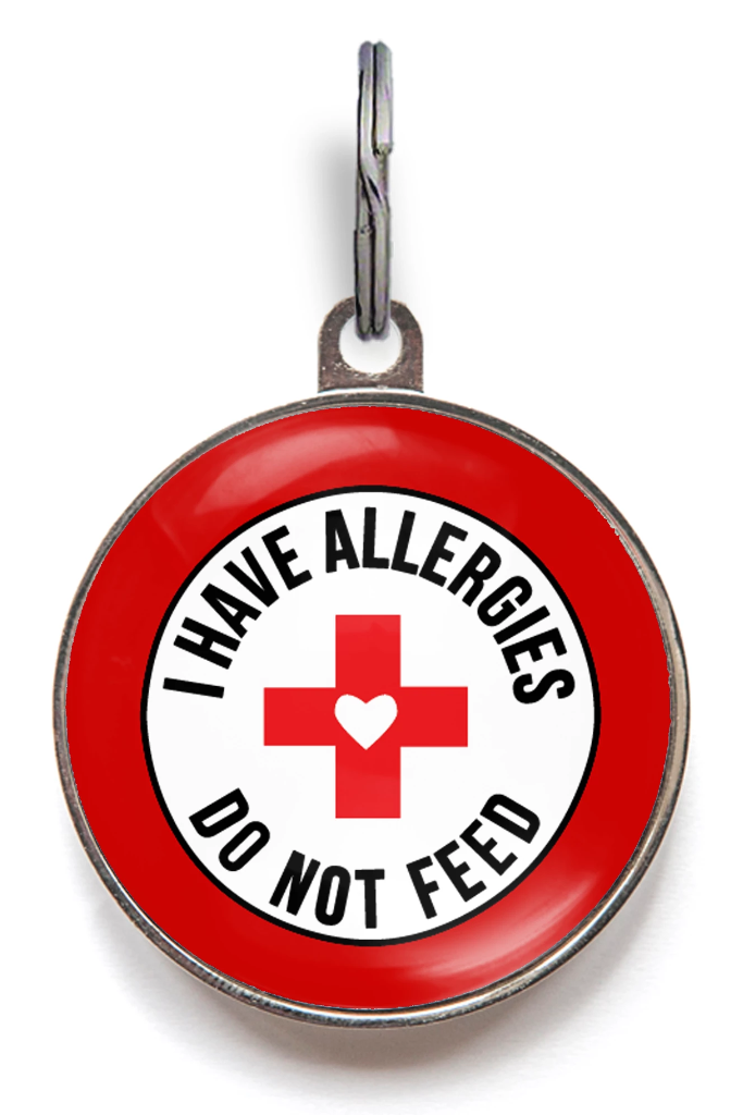 Allergies - Do Not Feed Dog ID Tag