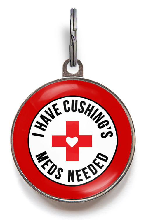 Cushing's Disease Dog Tag