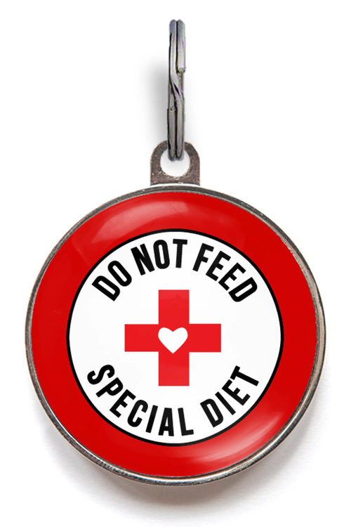 Do Not Feed, Special Diet Pet Tag