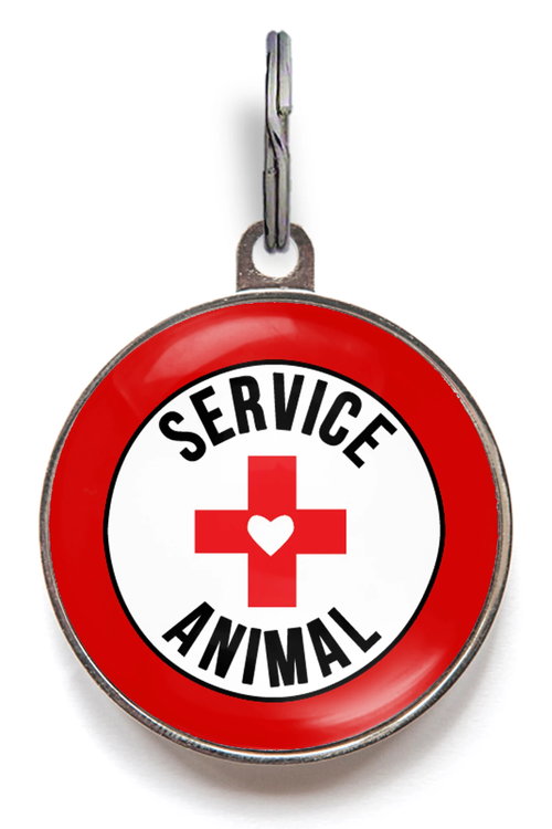 Service Animal ID Tag