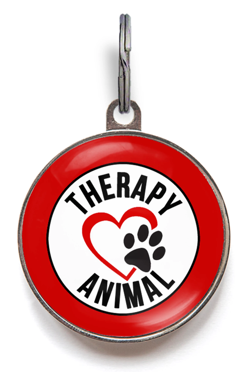 Therapy Animal ID Tag