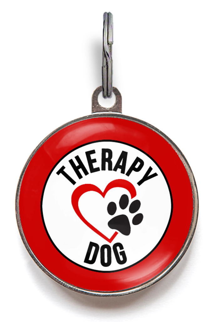 Therapy Dog ID Tag
