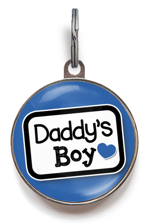 Daddy's Boy Pet Tag