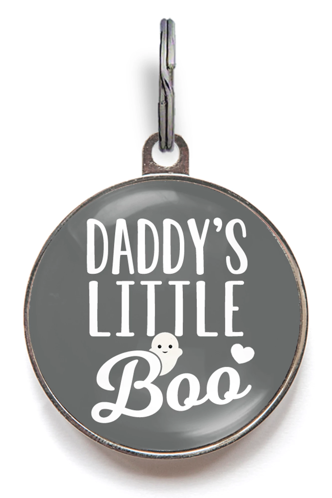 Daddy's Little Boo Dog Tag