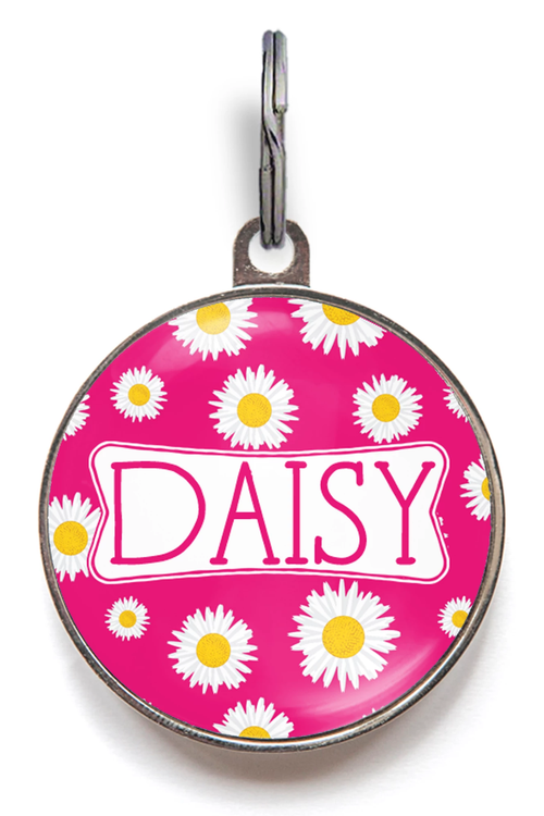 Daisy Dog Tag - Colour Options