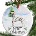 dalmatian christmas ornament